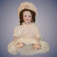 Antique Doll Bisque Laughing Jumeau S.F.b.J.: French Doll Toddler