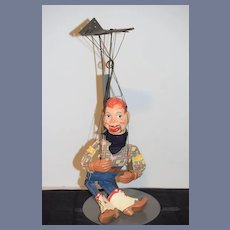 Old Howdy Doody Composition Doll Puppet