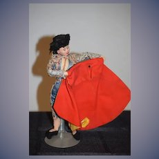 Old Cloth Doll Goya Bullfighter Sweet
