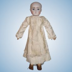 Fab Doll Dress For Steiner or Any French Doll Lace and Tapestry GORGEOUS Brocade