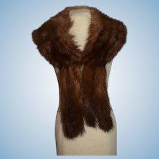 Wonderful Vintage Fur Stole for Doll Fancy