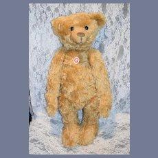 "Wonderful Steiff Teddy Bear Button in Ear Chest Tag 23"" Tall Gesetzl. geschutzt 404153"