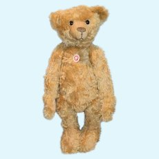 "Wonderful Steiff Teddy Bear Button in Ear Chest Tag 23"" Tall Gesetzl. geschutzt 404153"
