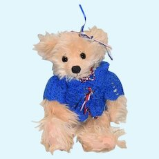 Artist Teddy Bear ADORABLE R&L CollectibiBears By Rhonda L. Walker Jointed Sweet W/ Tag