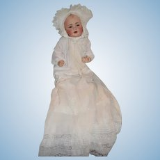 Gorgeous Antique Doll Baby Jean JDK Kestner Fab Clothes Wobbly Tongue