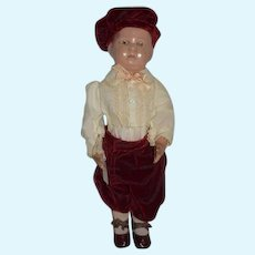 Antique Doll Wood Carved Schoenhut Jointed Walker Sweet Doll