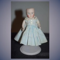 Antique Doll Miniature All Bisque Dollhouse Jointed