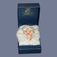 Adorable Doll R. JOHN WRIGHT Kewpie Boutonniere UFDC Limited Edition W/ Box and Papers Miniature