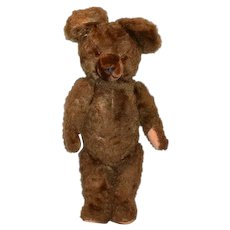 Old Brown Bear Teddy Bear For your Doll Jointed Sweet