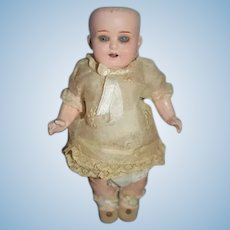Antique Doll Bisque Head Heubach Koppelsdorf Old Clothes and Shoes Factory