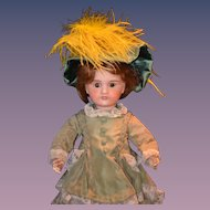 Antique French Bisque Doll Dressed