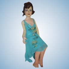 Ron Kron Doll Celebrity Portrait Sculpture Actress Patricia Neal or Who