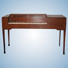 Wonderful Doll Miniature Large Scale Faux Piano Wood NICE Display For Dolls