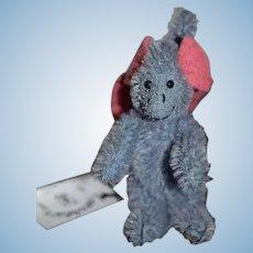Artist Toonybears Jointed Mohair Dinosaur Miniature For Doll Daphne