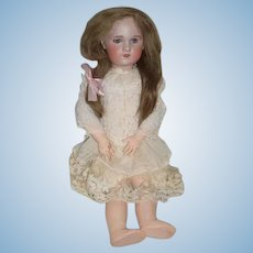 "Antique Doll French SFBJ 32"" TeTe Jumeau Sweet Face"