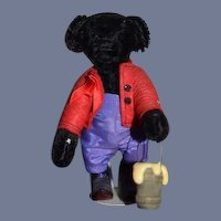 Artist Teddy Bear Storybook Bears Jointed Tagged Black Bear Miniature