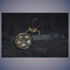 Old Miniature Cast Iron Yo Yo Toy HYLO