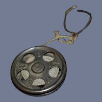 Old Miniature Cast Iron Yo Yo Toy HYLO