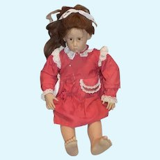 "Sweet Artist Doll Hildegard Gunzel 28"" Tall Doll"