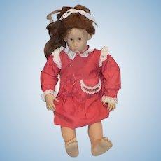 """Sweet Artist Doll Hildegard Gunzel 28"""" Tall Doll"""