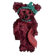 Artist Teddy Bear Rhonda L. Walker R&L COLLECTIBEARS Sweet Jointed Mohair