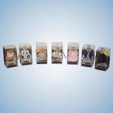 Vintage Teddy Bear Lot Wizard of Oz Miniature Janet Wilson Barton's Creek MIB