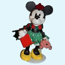 Porcelain Mickey Mouse Jointed Doll