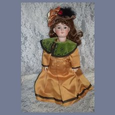Antique Doll Bisque Armand Marseille Dressed Sweet Face