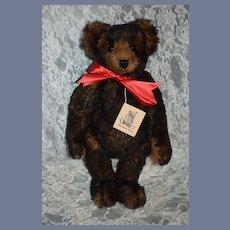 Wonderful Teddy Bear Brown Bear Artist Bear The Bear Facts Kathy Meyer 1993 ONLY 50 MADE