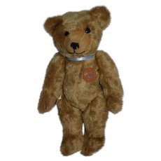 Sweet Bing Teddy Bear Jointed W/ Leather Tag and COA