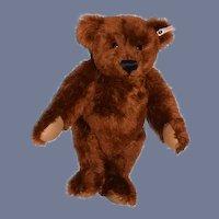 Steiff Teddy Bear Reddish Brown Louis Teddy Bear W/ Grand Prize Louisiana Purchase Exposition Medal