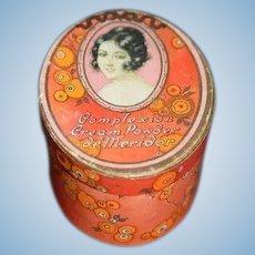 Wonderful Old De Meridor Complexion Cream Powder W/ Unopened Powder