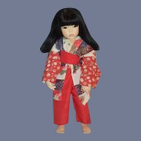 Wonderful Artist Doll Oriental Lali Belle Porcelain Character
