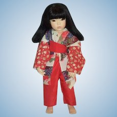 Wonderful Artist Doll Oriental Lali Belle Porcelain Character