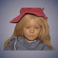 Vintage Artist Doll Annette Hemstedt Malin 1988 Barefoot Doll Gorgeous