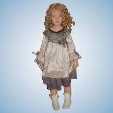 "Wonderful Artist Doll Zawieruszynski 30"" tall Jointed Life Like"