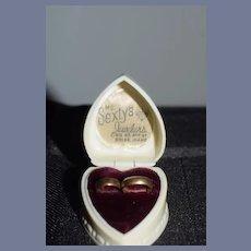 Old Miniature Doll Bracelets in Old Heart Box Sweet
