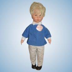"Vintage Kathe Kruse Doll W/ Tag Original Clothing Sweet 18"" Tall"