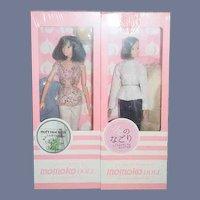 MOMOKO DOLL Soft Hot Milk Lingering Winter Two Dolls In Package MINT NRFB