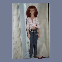 RanD R&D Angels Ball Jointed Body Doll in Original Box Red Head BDJ