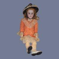 "Antique Doll BIG Bisque Heinrich Handwerck 33"" Tall Simon & Halbig"
