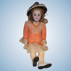 "Antique Doll BIG Bisque Heinrich Handwerck 33"" Tall Simon & Halbig"