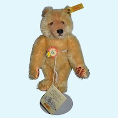 Steiff Dicky Bear Button Tag Chest Tag 0172/32 Adorable Jointed Mohair
