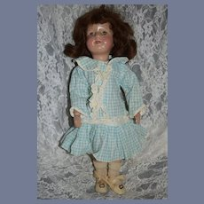 Antique Doll Wood Carved Schoenhut Miss Dolly Sweet