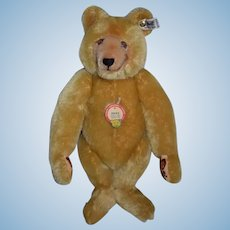 """Vintage Steiff Teddy Bear Jointed W/ Button Tag and Chest Tag 19"""" Tall Mohair 0201/51"""