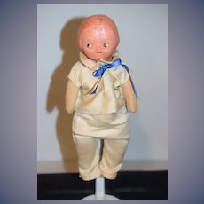 Vintage Doll Campbell Kids Composition & Cloth Doll Sweet Jointed