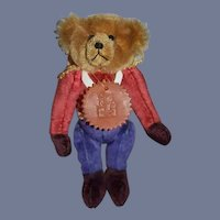 Sweet Artist Teddy Bear Jointed Mohair Sharon Lapointe Enchanted Bears Toy Soldier