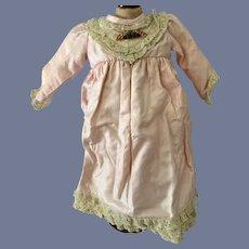 Sweet Vintage Doll Dress Lace Trim