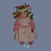 Kathe Kruse Doll Sweet W/ Tags Original Clothing