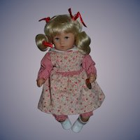 Kathe Kruse Doll Sweet W/ Tags Original Clothing